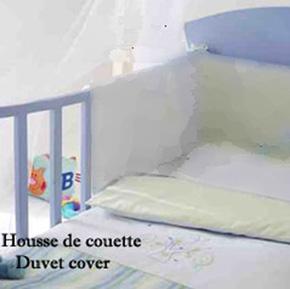 housse de couette 100x120 jalla junior. Black Bedroom Furniture Sets. Home Design Ideas